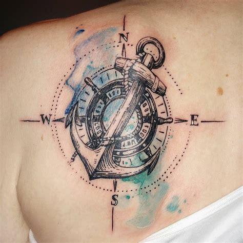 nautical themed tattoo tattoos pinterest