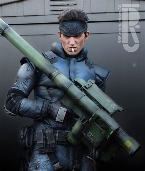 metal gear solid s solid snake brought to