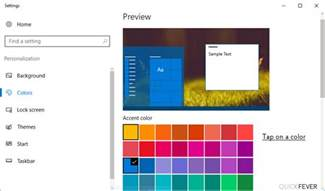 change taskbar color change taskbar color in windows 10 this way