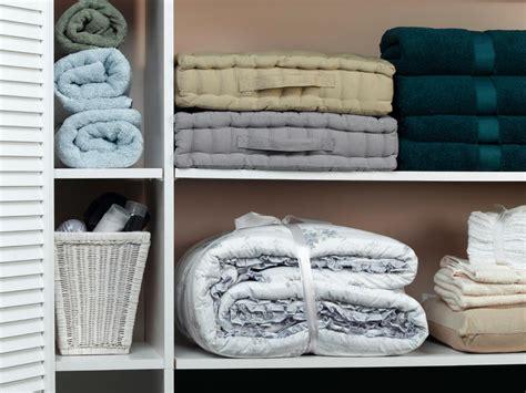 organizing your linen closet hgtv