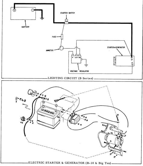 starter generator wiring diagram wiring diagram and