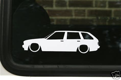 touring outline silhouette stickers decals  bmw