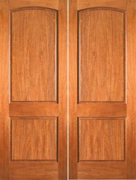 Two Panel Arched Interior Doors P 621 Interior Mahogany 2 Panel Arch Top Panel Door Contemporary Interior Doors