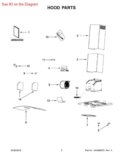 Chimney Parts And Supplies - chimney part w10313839 appliance parts and supplies