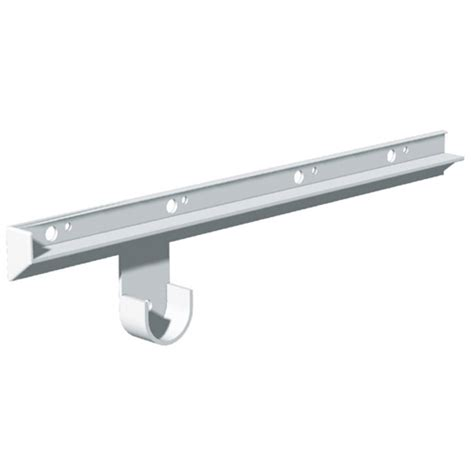Plastic Shelf Bracket Supports by Plastic Shelf And Rod Supports 16 Quot 2 Pack Rona
