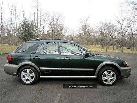 2004 Subaru Wagon by 2004 Subaru Impreza Outback Wagon 4 Door 2 5l