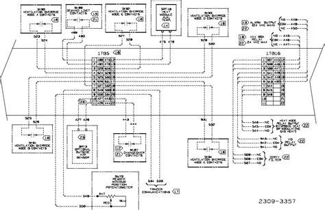 trane air handler wiring diagram wiring diagram and