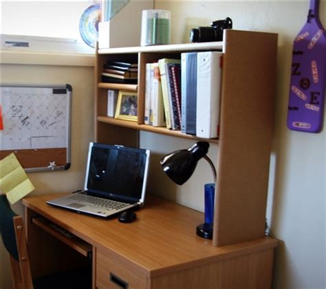 Eco Shelf Dorm Room Desk Bookshelf Cool Dorm Storage Desk For College Students