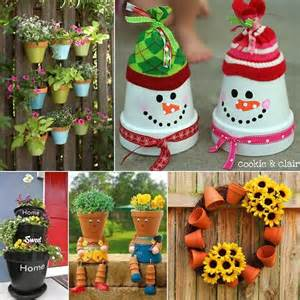 17 best ideas about decorated flower pots on