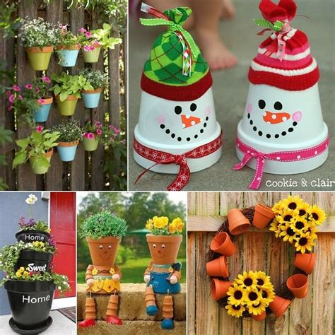 Pot Decoration by 17 Best Ideas About Decorated Flower Pots On