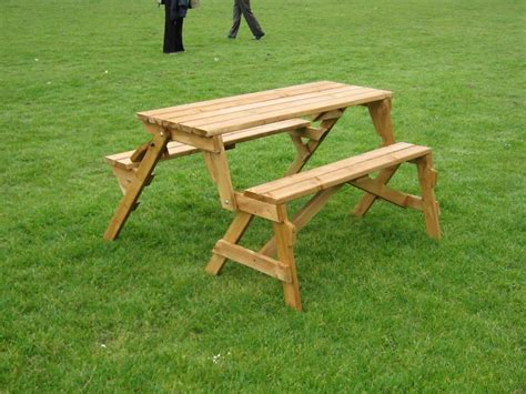 folding bench and picnic table combo folding picnic table bench amazon com stansport picnic