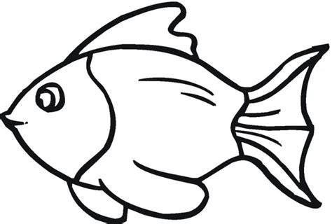 Outline Picture by Fish Outline Outline Of Fish Clipart 2 Wikiclipart