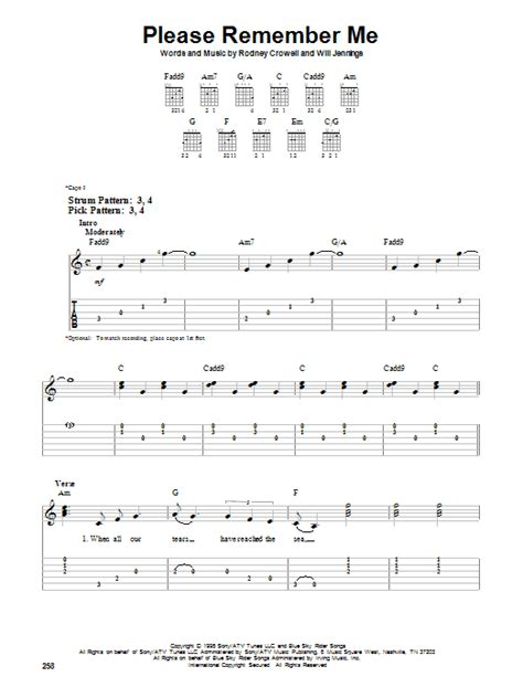 coco remember me lyrics tim mcgraw please remember me easy guitar tab