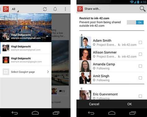 imagenes guardadas android google ahora permite publicar tus fotos guardadas en