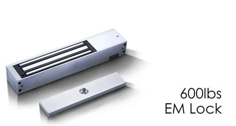 Access Emlock Magnet Lock 600lbs 600lbs em lock led entrypass