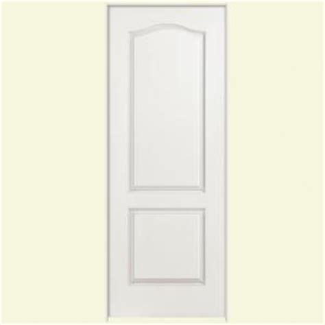 masonite solidoor smooth 2 panel square solid core primed masonite 28 in x 80 in solidoor smooth 2 panel arch top