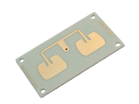 microstrip directional patch antenna ism band 5 8 ghz