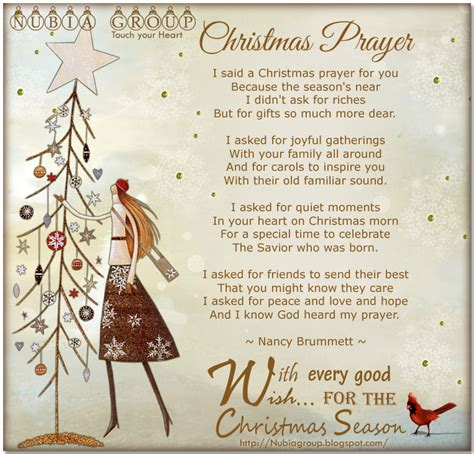 christmas invocation prayer nubia group inspiration prayer