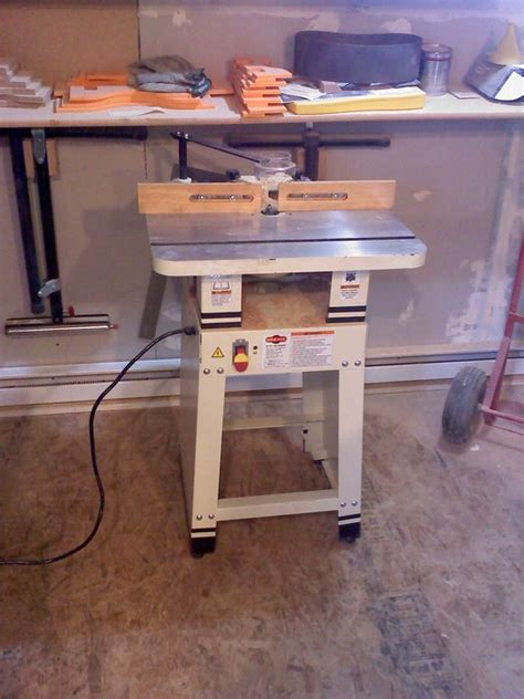 shop fox woodworking review router table by dustin lumberjocks