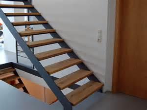 treppe stahl holz treppen traumtreppen
