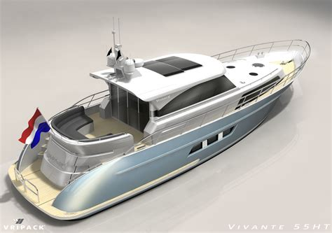 vivante 55 hp yacht by vivante yachts and vripack yacht - Motorjacht Vivante