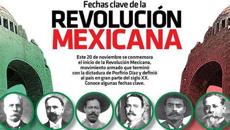 imagenes inicio de la revolucion mexicana fechas clave de la revoluci 243 n mexicana