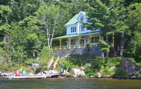 Cottage Rentals Lake Rosseau by Beautiful South West View Lake Rosseau Muskoka 5 Br