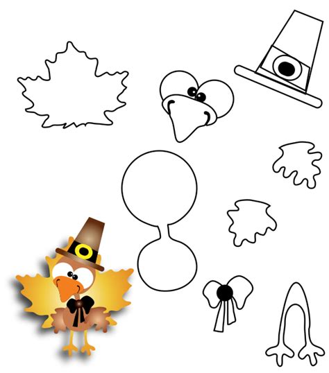 printable turkey paper craft printable thanksgiving crafts for kids find craft ideas