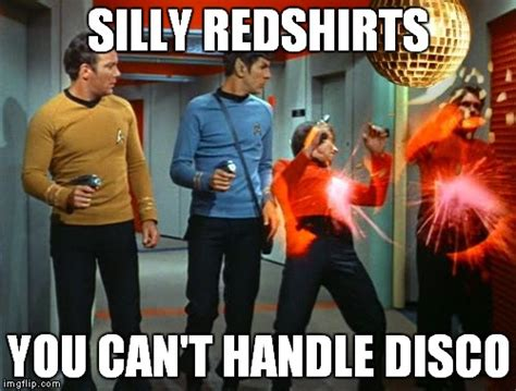 Redshirt Meme - star trek red shirts imgflip