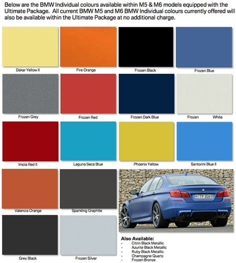 bmw paint colors the 5 most exciting colors on a bmw 4 series gran coupe