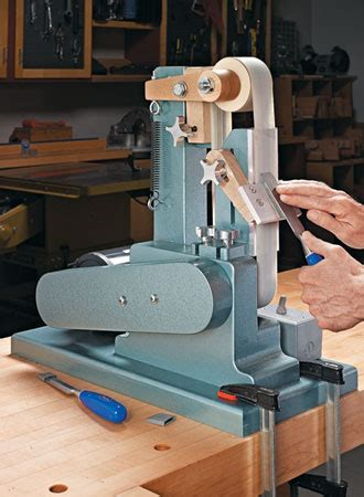 diy bench sander 4 in 1 belt sander woodsmith plans