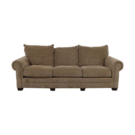 3 cushion couch 48 off tan three cushion couch sofas
