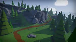 Home Design Game Free Download stylized low poly environment by mackenzie shirk in