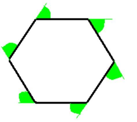 Total Interior Angles Of A Hexagon by Angles Gcse Revision Maths Shape Space And Measures