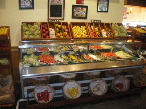 toppings bar the counter picture of fuddruckers orlando tripadvisor