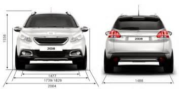 Peugeot 2008 Size Peugeot 2008