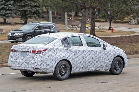 Nissan Versa Sedan 2020 by 2020 Nissan Versa Sedan Spied Testing In The U S