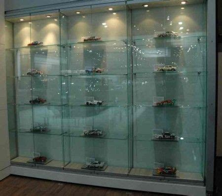 scale model display cabinet space and lighting are two critical elements in designing