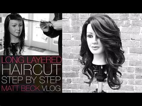 step by step for shag haircut medium length haircut tutorial shag haircut with sid