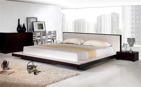modern king bed frame modern king size bed frame homesfeed