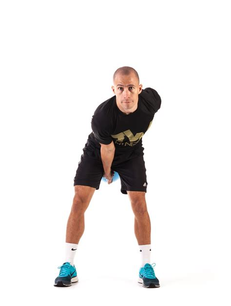 one arm swings one arm kettlebell swing total workout fitness