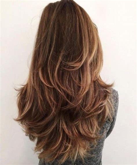 v haircut for thick hair long layered hairstyles in diffrent style like v shaped