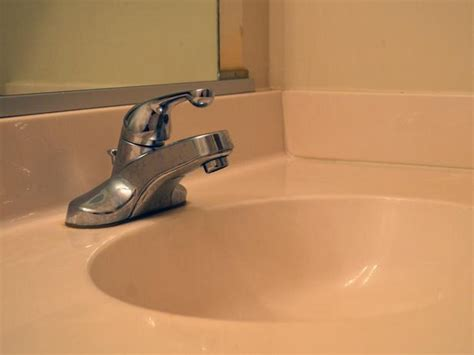install bathroom sink faucet how to replace a bathroom faucet how tos diy