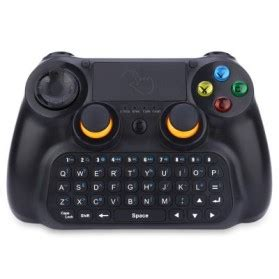 Keyboard Genggam Wireless Dengan Touch Pad V6 Black 1 wireless dongle receiver unifying for logitech mouse keyboard black jakartanotebook