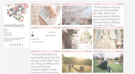 tumblr themes free classic themes by heartgrenade