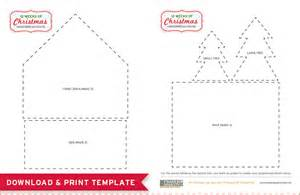 Free printables gingerbread house template and a delicious recipe