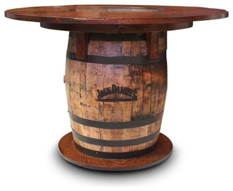 whiskey barrel tables gallery furniture usa whiskey barrel pub table rustic