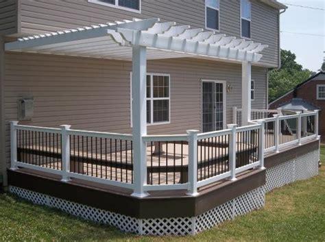what is a porch deck with pergolas deck pergolas in lancaster chester