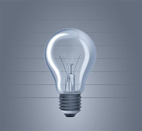 how to create a light bulb on vectorgraphit