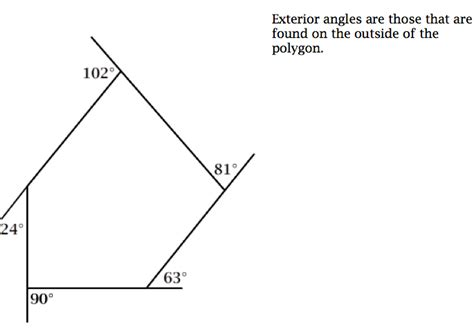 Sum Of Interior Angles Pentagon by Gallery For Gt Convex Pentagon With Angles